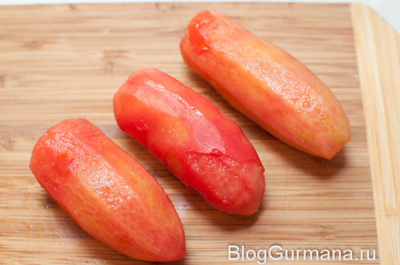 помидоры без кожицы